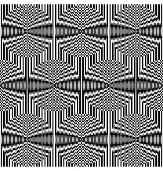 optical art background vector image vector image