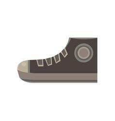 boots flat icon design elegance sport fashion vector image vector image