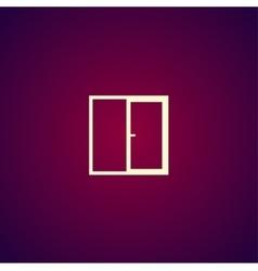 Flat Window icon vector image vector image