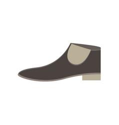 boots flat icon decoration design elegance icon vector image vector image