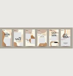 Instagram design template 05 vector