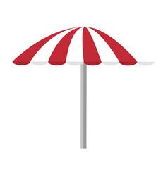 Isolated beach umbrella vector