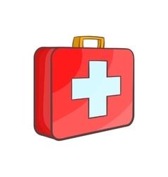 Medicine chest icon cartoon style vector image