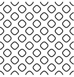 Seamless monochrome square pattern - halftone vector
