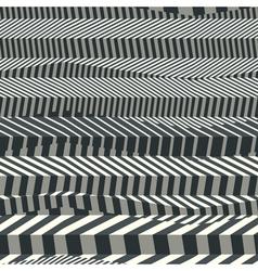 Striped textured geometric seamless pattern vector