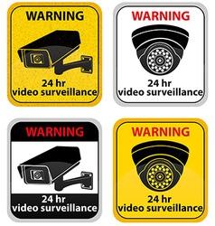 Surveillance cameras 09 vector