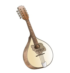 mandolin vector image vector image