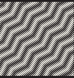 wavy stripes seamless pattern retro wavy vector image vector image
