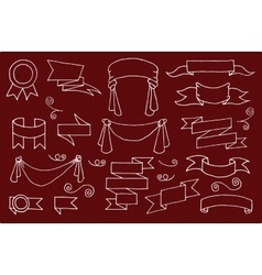 Doodle Banners Set vector image vector image