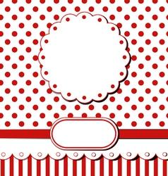 scrap greeting card vector image vector image