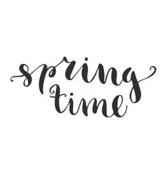 Happy Easter phrase vector image vector image