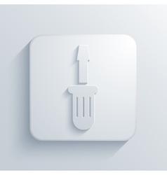 modern screwdriver light icon vector image vector image