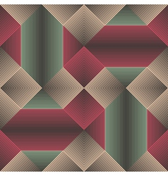 Abstract geometric ornament vector