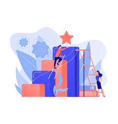 Business ambition concept vector