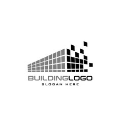 construction building icon logo design template vector image