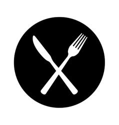 Cutlery icon image vector