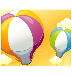 Hot Air Balloon Sky vector image