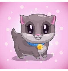 Kitty vector image