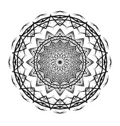 Mandala Round Ethnic Pattern vector image