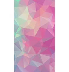 Shades of pink abstract polygonal geometric vector image