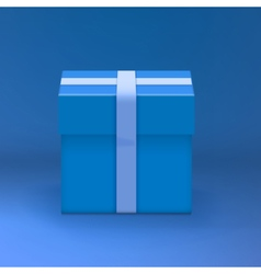 Gift Box Realistic Present Gift Box vector image