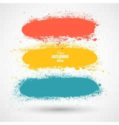 Summer style grunge banners vector