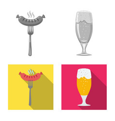 design pub and bar symbol collection of vector image
