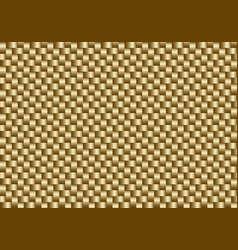 golden carbon fiber seamless background vector image