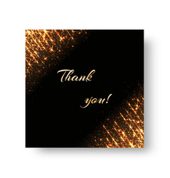 Greeting card with flickering rays vector