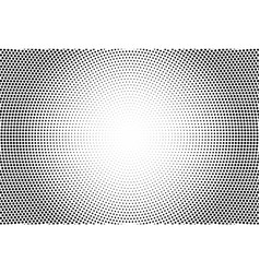 Halftone effect with black polka dots vector