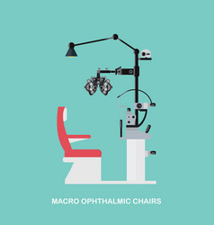 Marco ophthalmic chairs vector