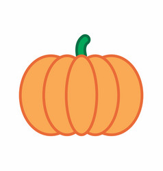 pumpkin colorful vector image