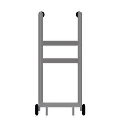 pushcart icon isolated vector image