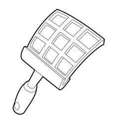 swatter icon outline style vector image
