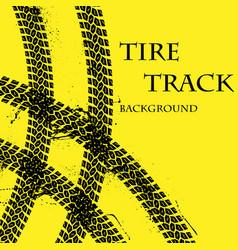 Tire tracks wallpaper vector