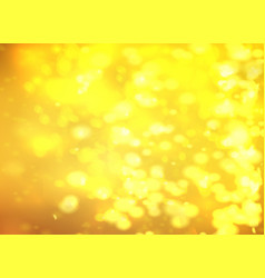 yellow bokeh background light effect for your vector image