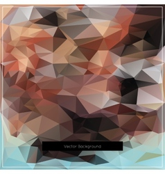 Abstract polygonal background pattern vector image vector image