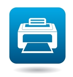 Printer icon in simple style vector image vector image