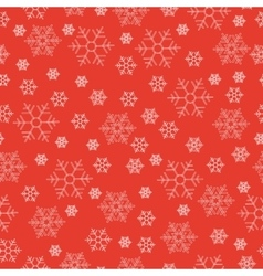 Winter holiday seamless patterns with white vector image vector image