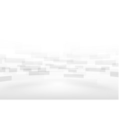 Abstract white rectangles motion background vector