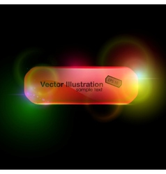 beautiful red buttons vector image