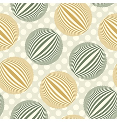 bubbles polka dot vector image