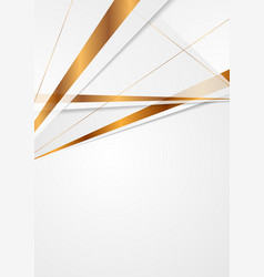 grey and bronze colors abstract modern background vector image