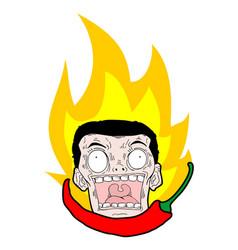 Hot spicy vector