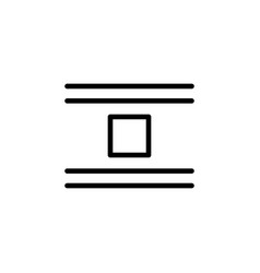 jump object icon can be used for web logo mobile vector image