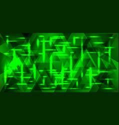 Pattern of metal in green tones vector