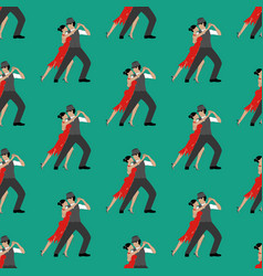 tango seamless pattern vector image