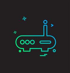 wifi router icon design vector image