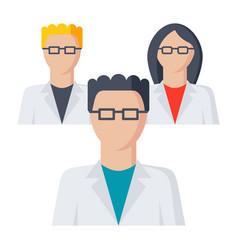 scientific community icon vector image vector image
