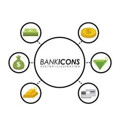 bank design vector image vector image